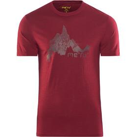 Meru Tumba Miehet Lyhythihainen paita , punainen